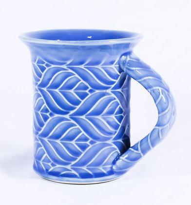 Medium Mug in Blue Glaze (AMC 019)