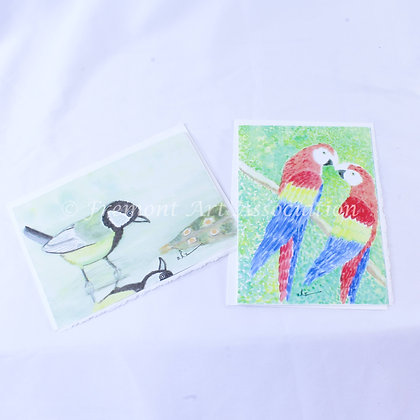 Greeting Cards with Birds (JBR 001)