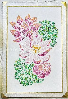 Original Painting: Lotus (MTB 008)