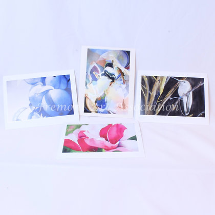 Set of 4 Blank Cards & Envelopes (CKR 008)