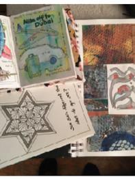Barbara Cronin Art Journaling.JPG
