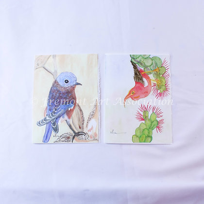 Greeting Cards with Birds (JBR 003)
