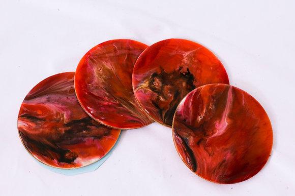 Autumn Colored Coaster Sets (ARK032)