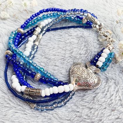 Fish SeedBead Bracelet (ARK016)