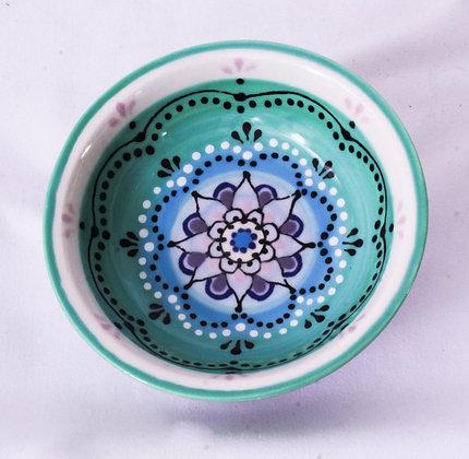 Hand Painted Ceramic Bowl (HMR 032)