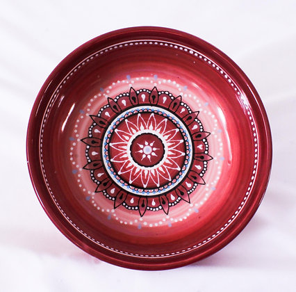 Hand Painted Ceramic Bowl (HMR 029)