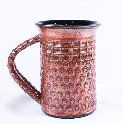 Large Mug with Copper Glaze (AMC 016)