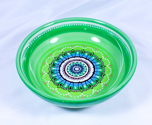 Hand Painted Ceramic Bowl (HMR 033)