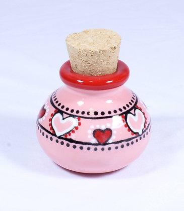 Hand Painted Ceramic Jar (HMR 045)
