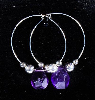 Amethyst Earrings (LJB 011)