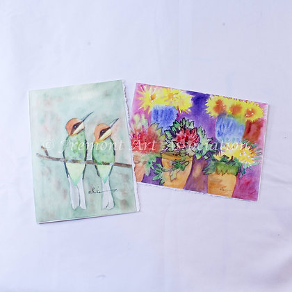 Greeting Cards with Birds (JBR 004)