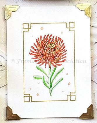 Original Painting: African Protea (MTB 021)