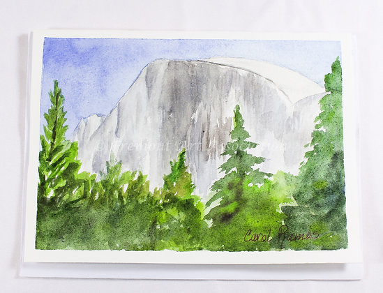 Half Dome Greeting Card (CKR 501)