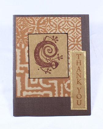 Thank You Notecard by Anita Clemetson (AMC 503)