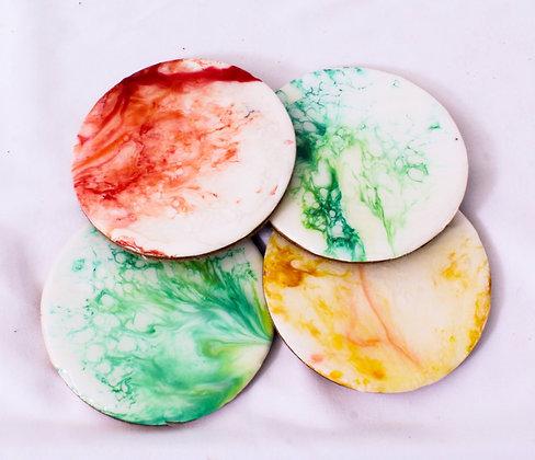 Color Splash Coaster Sets (ARK031)
