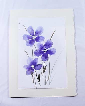 Original Watercolor Card (VFJ 535)