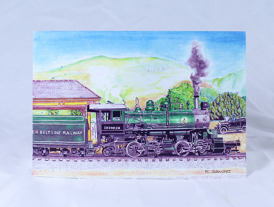 Greeting Card Niles Train (RSR 501)