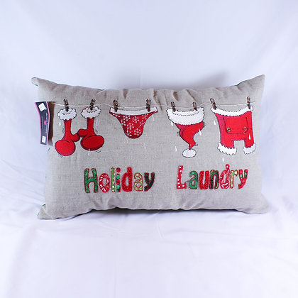 Holiday Laundry Pillow (JCS 001)