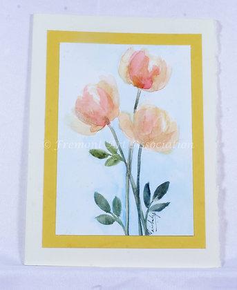 Original Watercolor Card (VFJ 522)