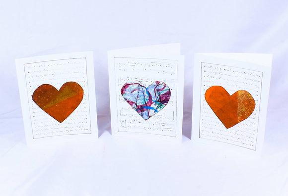 Set of 3 cards by Barbara Cronin (FAA 505)