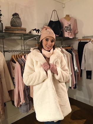 White Faux Fur Jacket (soft)