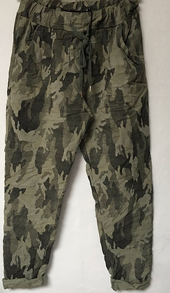 Faded Camouflage Magic Pants