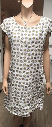 Linen Daisy dress