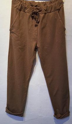 Soft cotton mix trousers