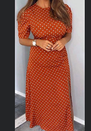 Midi Dot Dress