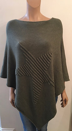 Star poncho (mid weight)