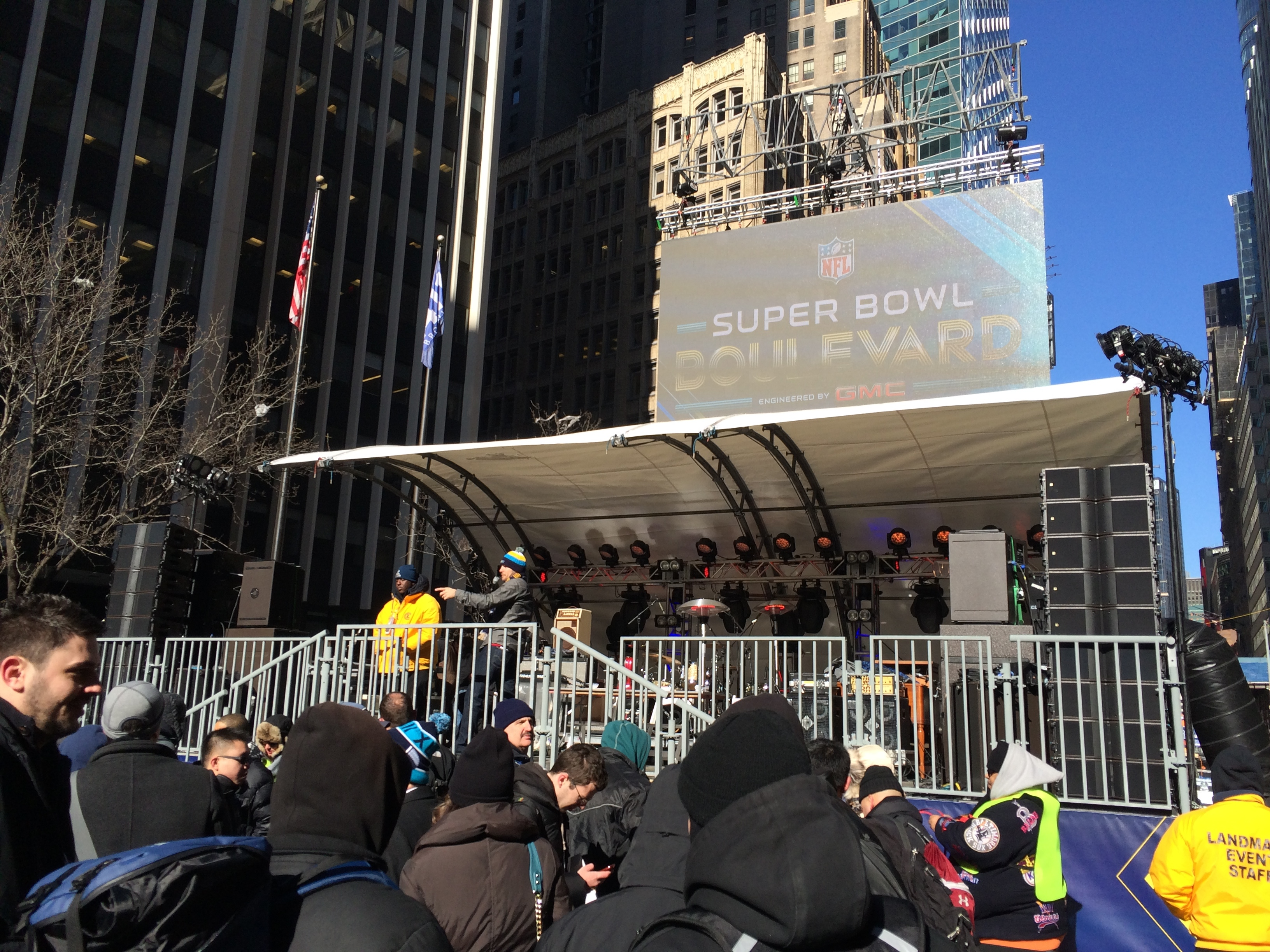 Super Bowl - NYC