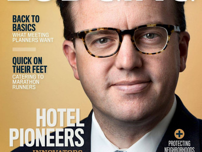 TLTsolutions' Founder, Tracy Prigmore, featured in Lodging Magazine's issue of Hotel Pioneer