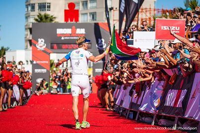 Fan support Ironman South Africa