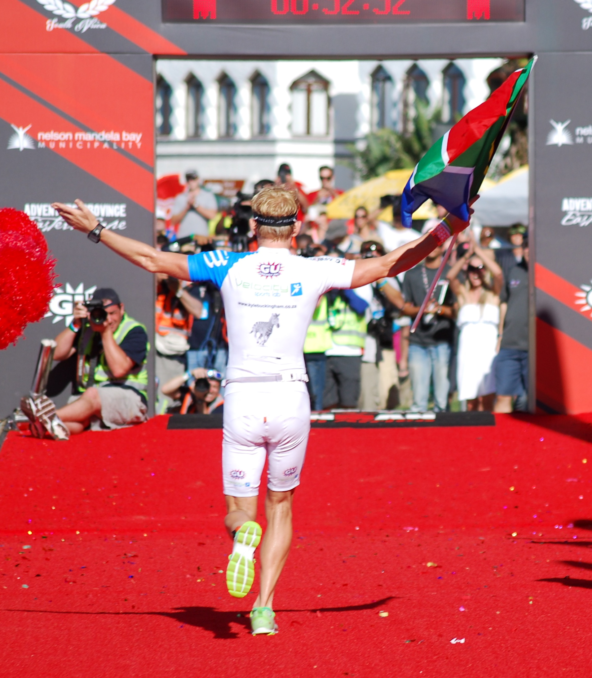 2nd place Ironman South Africa 2014