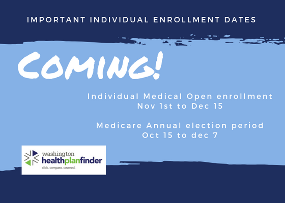 Enrollment Season is Coming!