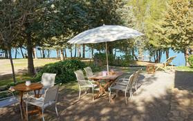Durch die kühlende Brise vom See lässt es sich auch bei höheren Temperaturen Tagen hier gut aushalten.