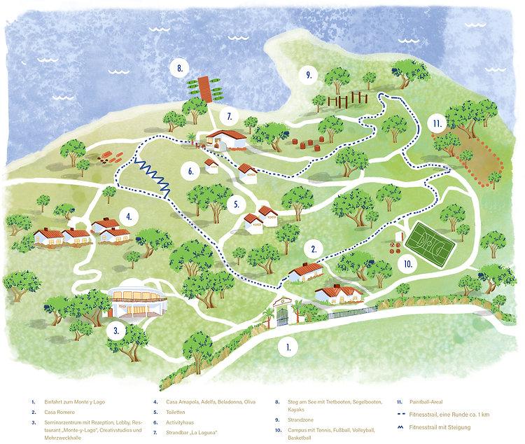 Karte, Monte-y-Lago