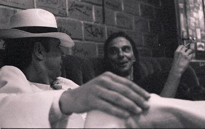 Torsten und Oddel Backstage