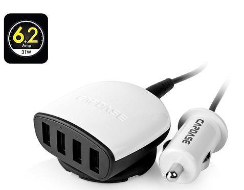 Capdase Quartet USB Car Adapter Boosta Z4 - 6.2A