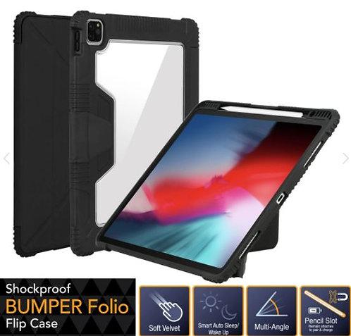 "Capdase iPad Air 4 (10.9"") Bumper Folio Flip Case with Pencil Slot"
