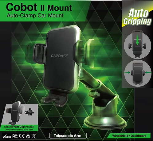 Capdase Auto-Clamp Cobot II Car Mount Telescopic-Arm for Windshield/Dashboard