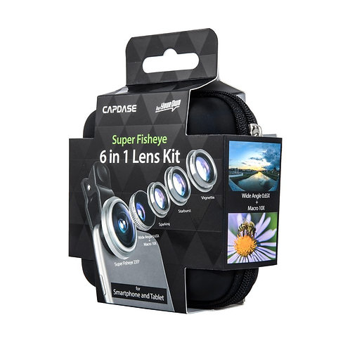 Smart Photo Lens Super Fisheye 6 in 1 Lens Kit
