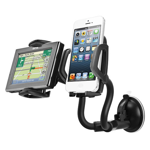 Capdase Sport Car Mount Racer Duo for Windshield/Dashboard