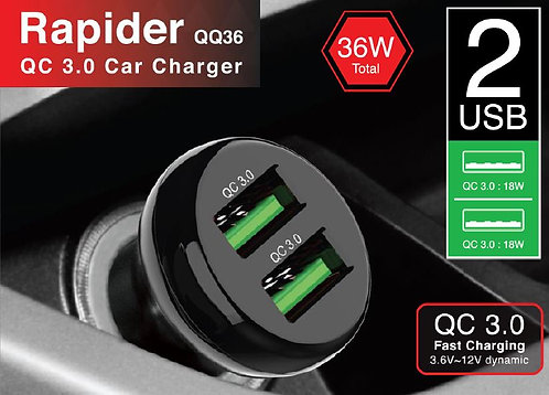 Capdase QC3.0 Rapider QQ36 Car Charger