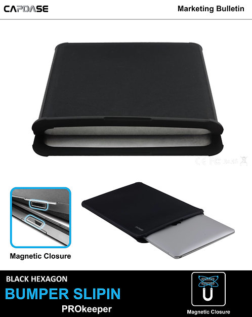 Capdase Bumper Slipin Prokeeper for MacBook 13""