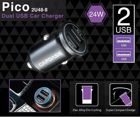 Capdase Dual USB Car Charger Pico 2U48 II