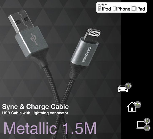 Capdase L-Pin Metallic Sync & Charge Cable (1.5M)