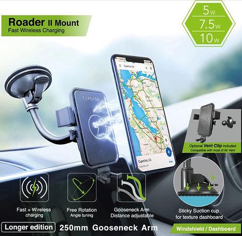 Capdase Roader II Fast Wireless Car Charging Mount Gooseneck-Arm