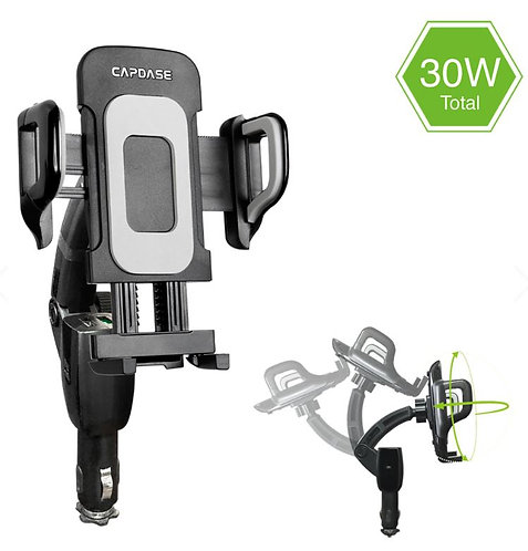 Capdase Car Charger Mount - Flexi II Charging Arm F30