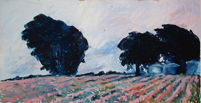Tree Lined Field II